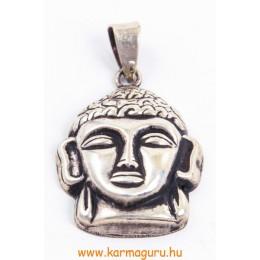Buddha fej ezüst, közepes