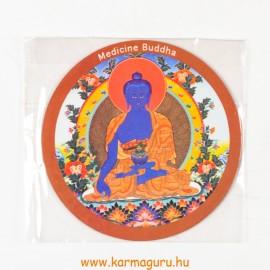 Gyógyító Buddha vékony mágnes