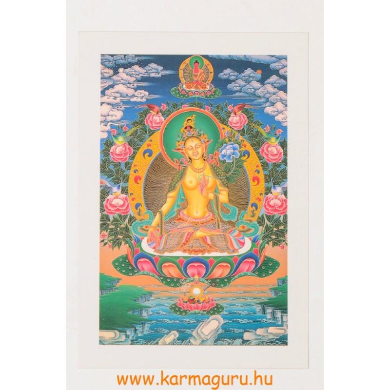 Fehér Tara képeslap