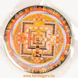 Kalacsakra mandala vastag mágnes