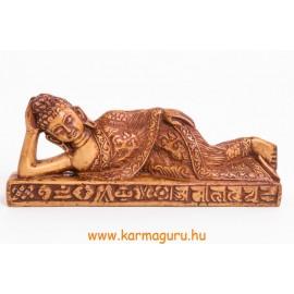 Fekvő Buddha nagyobb csont színű
