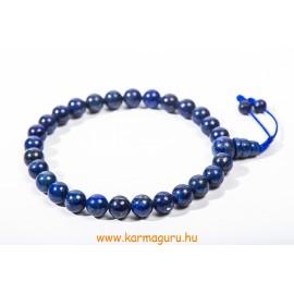 Lapisz lazuli csukló mala - prémium minőség, állítható - a gyógyító gondviselés köve