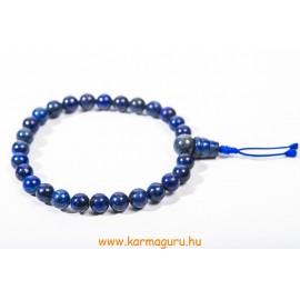 Lapisz lazuli csukló mala - prémium minőség gumis - a gyógyító gondviselés köve