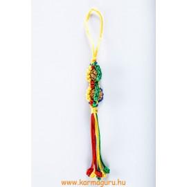 Dorje szerencse lógó rudraksha magokkal