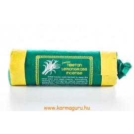Ősi tibeti citromfüves füstölő – stimuláló, élénkítő