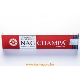Vijayshree Arany Nagchmpa füstölő