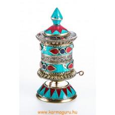 Asztali kőberakásos imamalom filigránnal