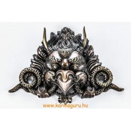 Garuda maszk rézből