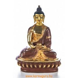 Amitabha Buddha aranyozott szobor