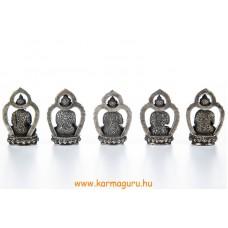5 Dhyani Buddha réz szobor - prémium minőségű