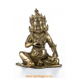 Zambala réz szobor, matt sárga - 17cm