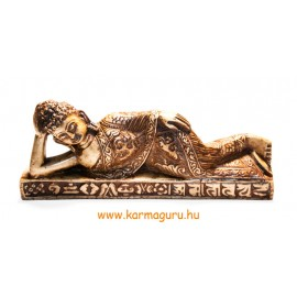 Fekvő Buddha közepes csont színű