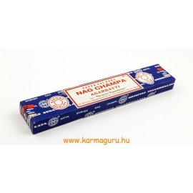 Satya Sai Baba Nag Champa kék dobozos füstölő