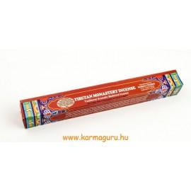 Tibeti kolostori füstölő - tradicionális gyógyító füstölő