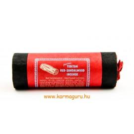 Ősi tibeti vörös szantál füstölő - gyulladáscsökkentés, hűsítés