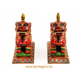 Örző oroszlán szobor pár - prémium minőségű