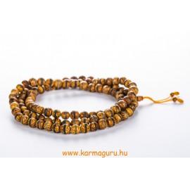 Bódhi mala türkíz és korall berakással, állítható - a megvilágosodás és a szellemi út fája