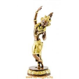 Táncoló Tara szobor réz, arany és bronz