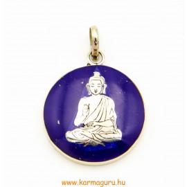 Medál, Buddhával, lápisszal