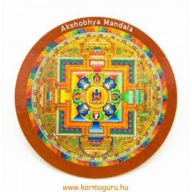 Akshobhya mandala vékony hűtőmágnes
