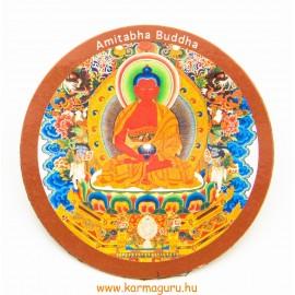 Amitabha Buddha vékony hűtőmágnes