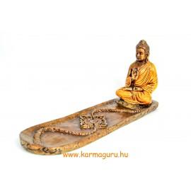 Áldó Buddha füstölő égető