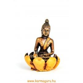Shakyamuni Buddha lótuszban füstölő égető