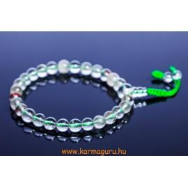 Tibeti kvarc csukló mala, állítható - a megvilágosodás, a belső út mesterköve