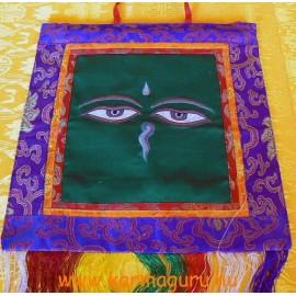 Fali függő Buddha szeme jellel