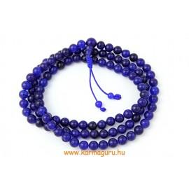 Kék onix mala, állítható - a szerelmi titkok köve