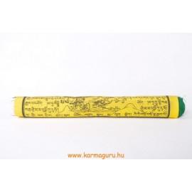 Prémium minőségű tibeti imazászló nagy
