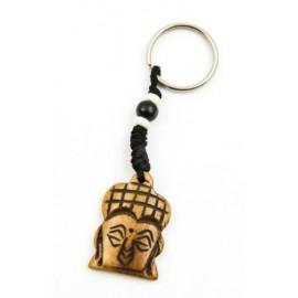 Kulcstartó buddha fej