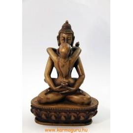 Buddha és Shakti szobor csont színű