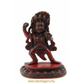 Vadzsrapani szobor rezin vörös színű