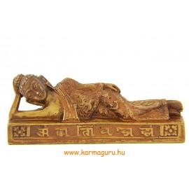 Fekvő Buddha kisebb csont színű